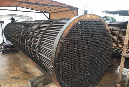 İZMİR REFINERY EXCHANGER AND AIR COOLER RE-TUBE