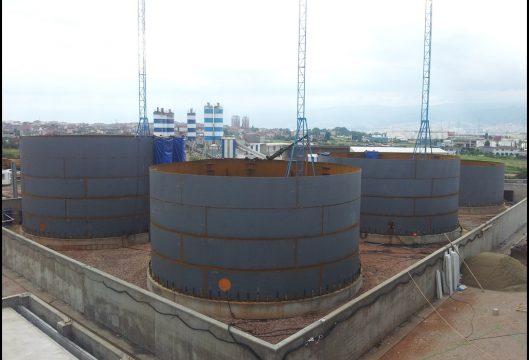 Opet Körfez Terminali Tank İmalat ve Montajı